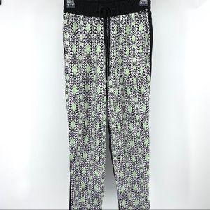 Kut From The Kloth Geometric Drawstring Pants